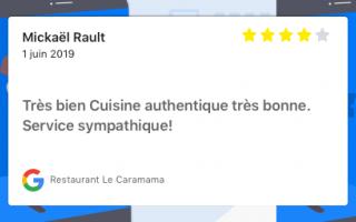 Restaurant Le Caramama