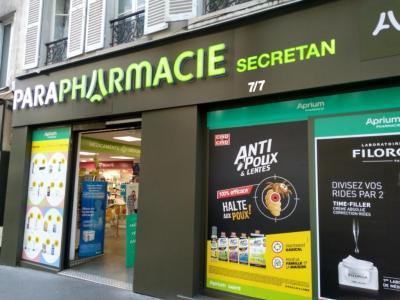 Pharmacie Secrétan - Pharmacie - Paris