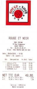 Rouge et Noir - Restaurant - Troyes