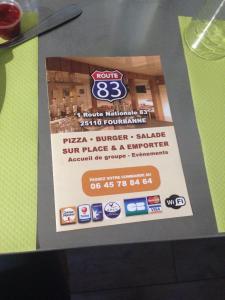Route 83 - Restaurant - Fourbanne