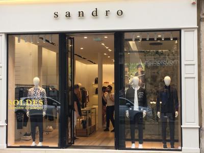 Sandro - Vêtements homme - Paris