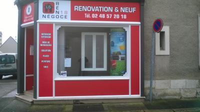 SAS LS Reno-Negoce 18 - Entreprise de menuiserie - Bourges