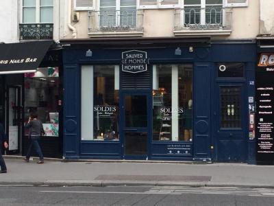 Sauver Le Monde Des Hommes - Vêtements homme - Paris
