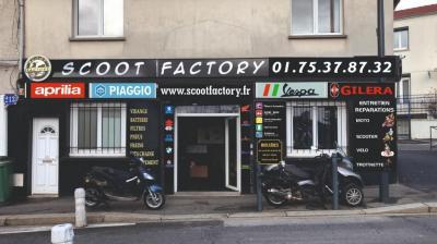 Scoot Factory - Vente et réparation de motos et scooters - Fontenay-sous-Bois