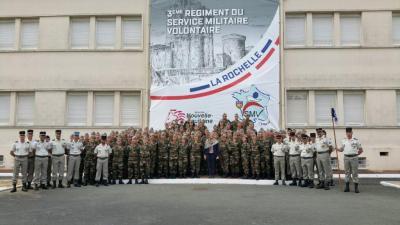 Service Militaire Volontaire Poitou Charentes La Rochelle - Défense nationale - services publics - La Rochelle