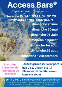 Séverine Musa - facilitatrice Access Bars - Soins hors d'un cadre réglementé - Lyon