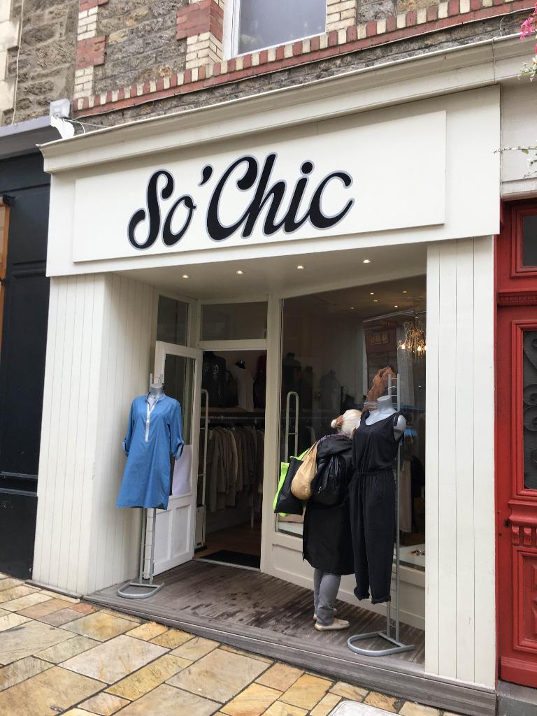 So Chic Dinard Magasins De Vêtement Adresse