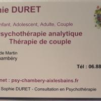 Sophie Duret - CHAMBÉRY