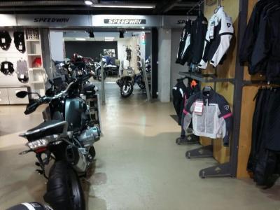Speedway - Accessoires et vêtements de moto - Paris