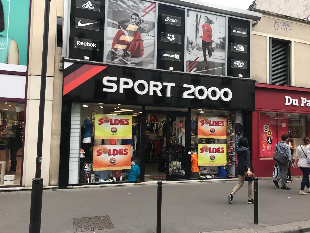 Sport 2000 Paris Magasin de sport (adresse, avis)
