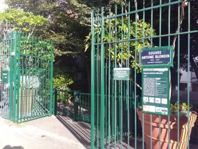 Square Antoine Blondin - Parc naturel - Paris