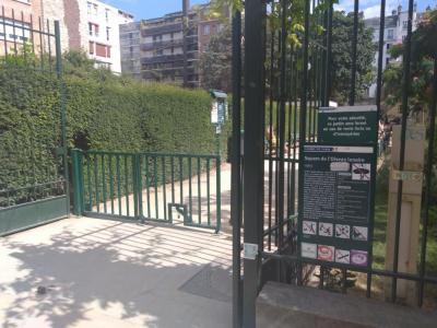 Square de l'Oiseau Lunaire - Parc naturel - Paris