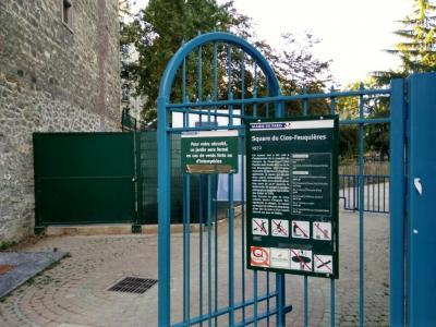 Square Du Clos Feuquières - Parc et zone de jeu - Paris