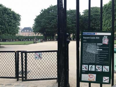 Square Louis Xiii - Parc et zone de jeu - Paris