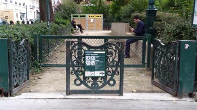 Square Montholon - Parc naturel - Paris