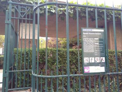 Square Suzanne Buisson - Parc et zone de jeu - Paris