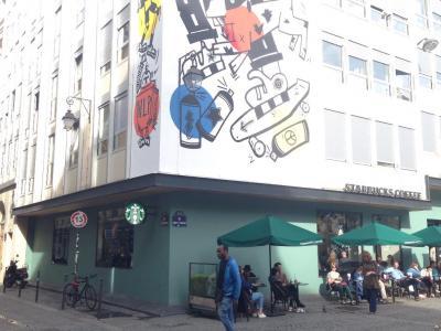 Starbucks - Lieu - Paris