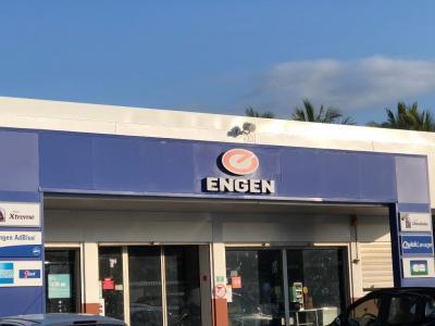Station Engen Etang Salé - Installateur de bornes électriques - L'Etang-Salé