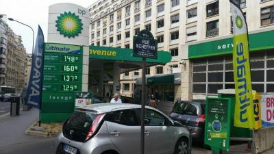 Station service BP - Station-service - Paris
