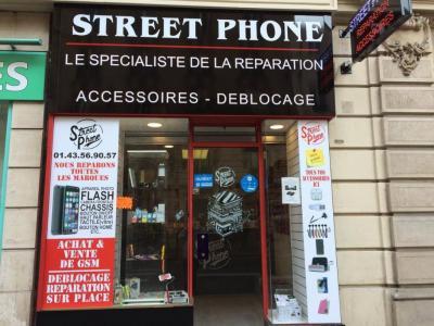 Street Phone - Vente de téléphonie - Paris