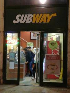 Subway - Restauration rapide - Dijon