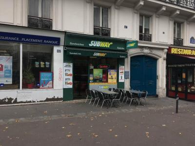 Subway - Restauration rapide - Paris