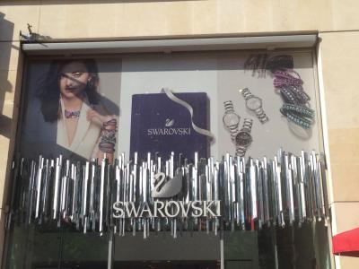Swarovski - Bijouterie fantaisie, gare St Lazare, 75008 Paris ...