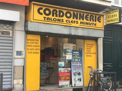 Talon Clefs Minute - Cordonnier - Vincennes