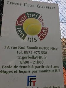 Tennis Club Gorbella - Terrain et club de tennis - Nice