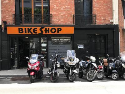 The Bike Shop - Vente et réparation de motos et scooters - Boulogne-Billancourt