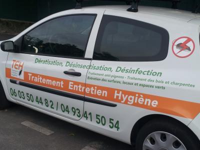 Traitement Entretien Hygiene Sarl - Dératisation, désinsectisation et désinfection - Menton