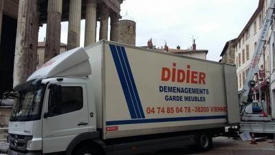 Transports Didier - Stockage et destruction d'archives - Vienne