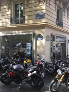 Triumph - Agent concessionnaire motos et scooters - Paris