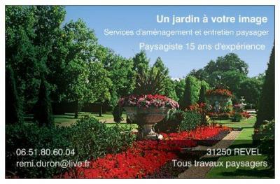 Un Jardin à Votre Image - Paysagiste - Revel
