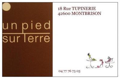 Un Pied Sur Terre - Chaussures - Montbrison