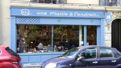 Une Maille A L Endroit - Laines - Paris