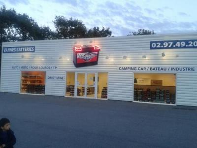 Vannes Batteries SAS - Centre autos et entretien rapide - Vannes