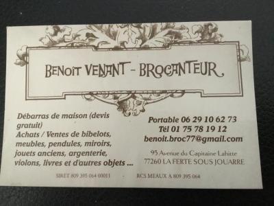 Venant Benoît - Brocante - La Ferté-sous-Jouarre