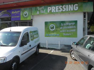 Vert Et Net Pressing EURL - Blanchisserie pour collectivités - Montauban