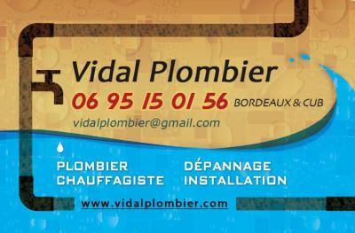 Vidal Plombier - Vente et installation de chauffage - Bordeaux