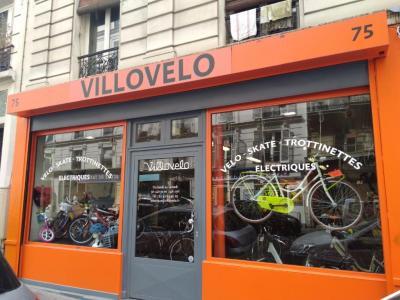 Villovelo - Vente et réparation de vélos et cycles - Paris