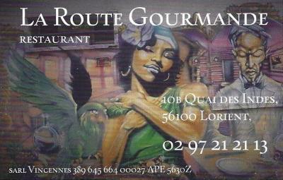 La Route Gourmande - Restaurant - Lorient