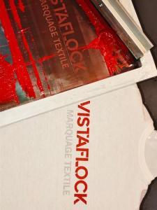 Vistaflock Flocage Textile - Sérigraphie - Lyon