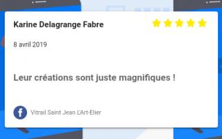 Vitrail Saint Jean L'Art-Elier Pitrat