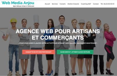Web Media Anjou - Création de sites internet et hébergement - Angers