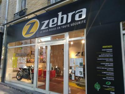 Zebra Moto Ecole - Auto-école - Paris