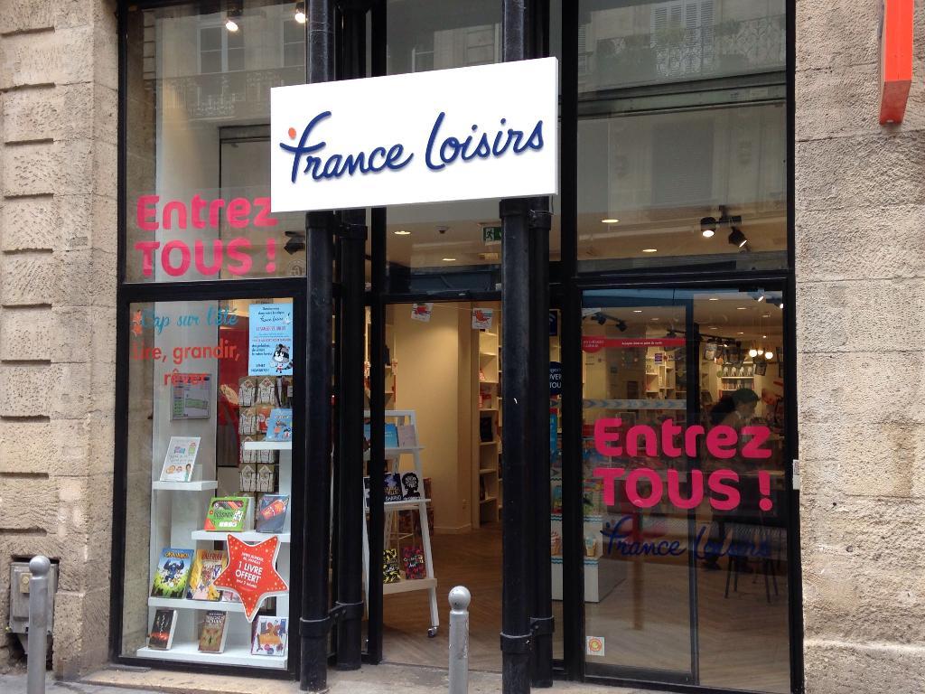 France Loisirs 94 Cours Alsace Et Lorraine 33000 Bordeaux